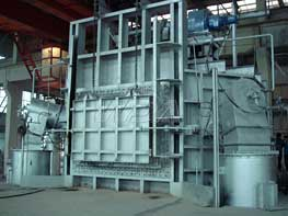 Lateral shaft furnace
